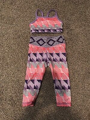 Gymboree GymGo Active Wear Sport Leggings And Top 2T & 3-4T