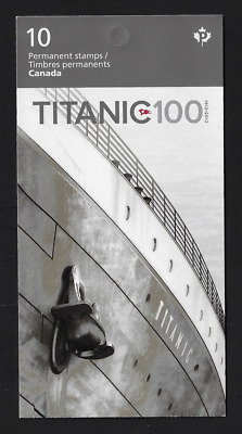 Canada Stamps - Booklet Pane of 10 - Titanic #2537a (BK485) - MNH