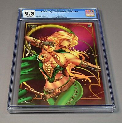 Grimm Fairy Tales Robyn Hood # 5 CGC slabbed and graded 9.8! Ltd to 250 total!