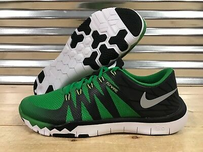 on sale 3fbbe b761a Nike Free Trainer 5.0 V6 AMP Oregon Running Shoes Green SZ 12.5 ( 723939-307