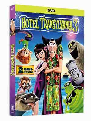 🔥 HOTEL TRANSYLVANIA 3 SUMMER VACATION (DVD) - Free Fast US Shipping 🔥