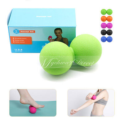 Unisex Yoga Peanut Ball Double Lacrosse Home Use Portable Massager Roller Ball