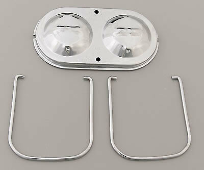 Mr Gasket 5273 Chrome Master Cylinder Cover GM Corvette Dual Bail