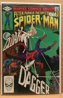 Marvel Comic - The Spectacular SPIDER-MAN #64 Cloak & Dagger FIRST APP 1976 NM+
