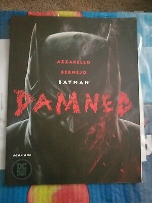 Batman Damned #1 Main Cover A First Print Controversial Uncensored Sold Out