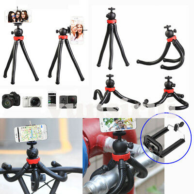 "1/4"" Universal Octopus Stand Tripod Mount Holder Stand For Cellphone Camera DV"