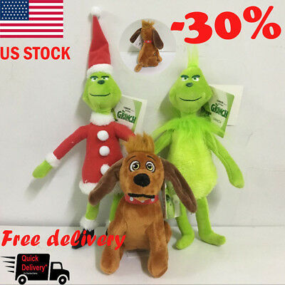 How the Grinch Stole Christmas Stuffed Plush Toy Grinch Christmas Gifts