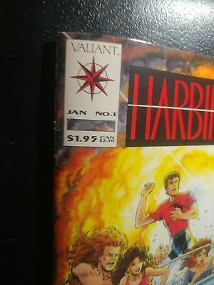 Harbinger #1 Nm-With Coupon White Pgs Hilltop Ped Coll🐼 Summer Movie 1992