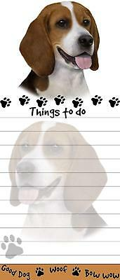 """""""Beagle Magnetic List Pads"""" Uniquely Shaped Sticky Notepad"""