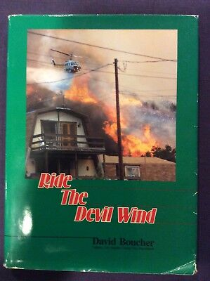 Ride The Devil Wind HCDJ 1991 First Printing Signed David Boucher #252