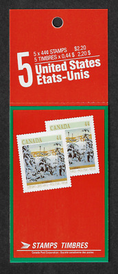 Canada - Booklet Pane of 5 - Christmas (Winter Landscapes) - Snow #1257a (BK108)