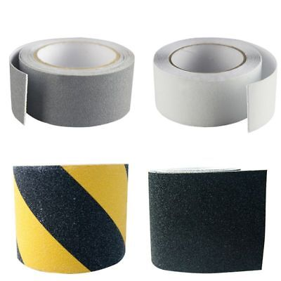 UK 2 Roll Safety Non Skid Tape Anti Slip Stair Step Grip Safe Grit Tape Sticker