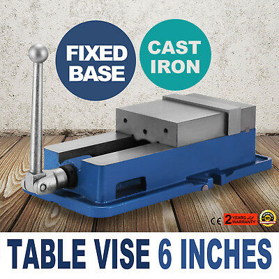 6Inch Vise Precision Milling Drilling Machine Clamp Vice Fixed Base UNIT