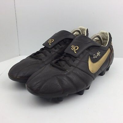 62f2340d7b9 Nike Tiempo R10 Ronaldinho Gold Legend Soccer Cleats 315286-271 Men s Size  13
