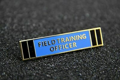 US Police Insignia Citation Commendation bar FTO FIELD TRAINING OFFICER