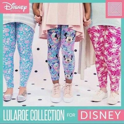 BNWT LuLaRoe Kids Or Tween Mystery Americana Print Leggings