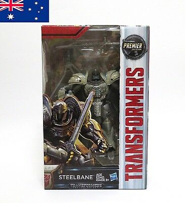 Transformers Steelbane The Last Knight Premier Edition Robot Dragon Toy HASBRO