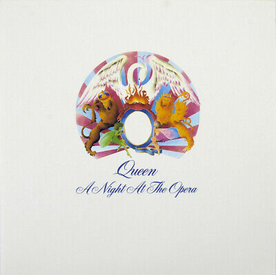 Queen Night At The Opera US remastered reissue 180gm vinyl LP g/f sleeve NEW/SEA