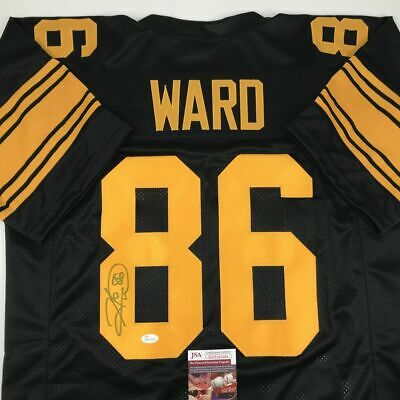 bb542b1d8ce Autographed/Signed HINES WARD Pittsburgh Color Rush Football Jersey JSA COA  Auto