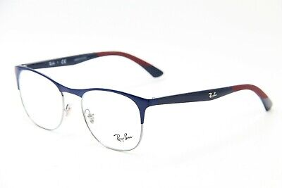 f24455534ae53 New Ray-Ban Rb 6412 2967 Blue Eyeglasses Authentic Frames Rx Rb6412 50-18
