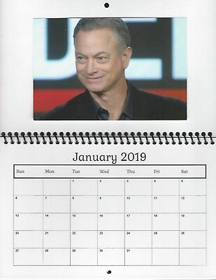 Csi Calendar 2019 GARY SINISE Csi Ny Criminal Minds: Beyond Borders 2019 Photo