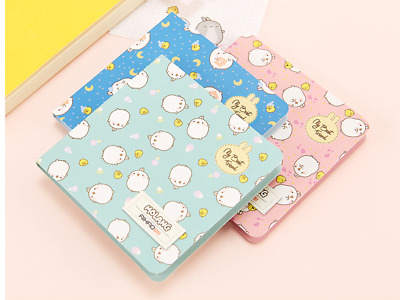 1Pc Molang Rabbit Creative Diary Book Notebook Notepad Memo Paper Index Tab