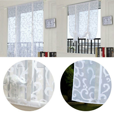Printed Window Curtain Jacquard Shower Curtains Semi-Automatic Lifting Curtain