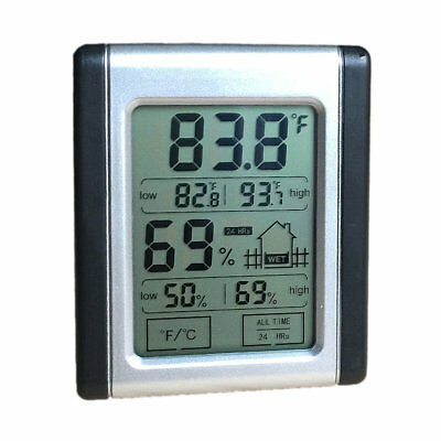 Digital Humidity Monitor Thermometer Hygrometer Humidity Gauge Indicator New