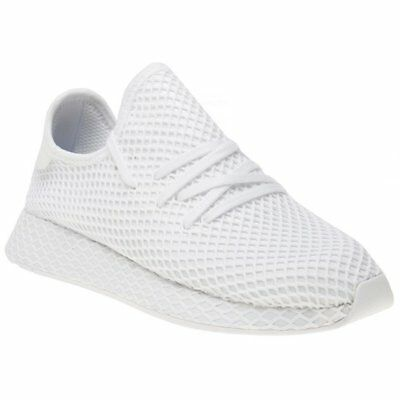 cheap for discount 6c03a 5b6d9 New MENS ADIDAS WHITE DEERUPT RUNNER NYLON Sneakers Running Style