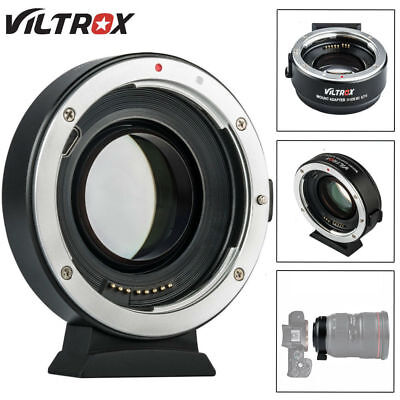 Viltrox EF-EOS M2 AF Lens Adapter 0.71x Speed Booster for Canon EF Lens to EOS-M