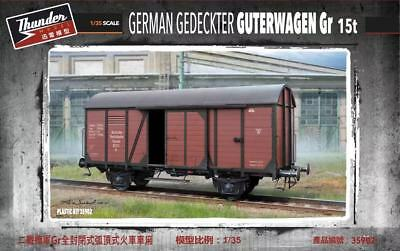 Thunder Model TM35902 1/35 German Gedeckter Guterwagen Gr  15t