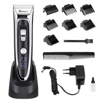 Professional Hair Clippers Set Men,Facial&Mustache Trimmers Cordless Electric