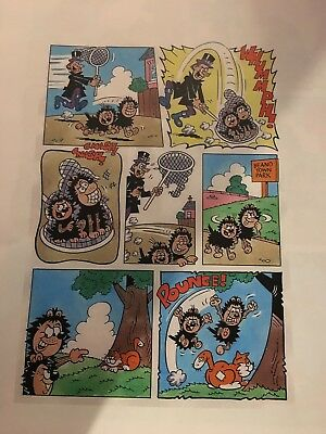 Beano Gnasher And Gnipper By Barry Glennard  2010 Book Page 63. And Proofs