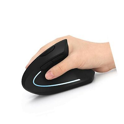 Ergonomic Mouse, Wireless Mouse - Lekvey 2.4GHz Optical Vertical Wireless Mic...