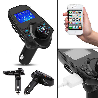 Bluetooth FM Transmitter USB Stick KFZ Auto SD AUX Freisprechanlage MP3 Player