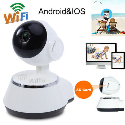 Wireless WIFI HD 720P IP Camera Baby Pet Monitor Security Infrared Night Vision