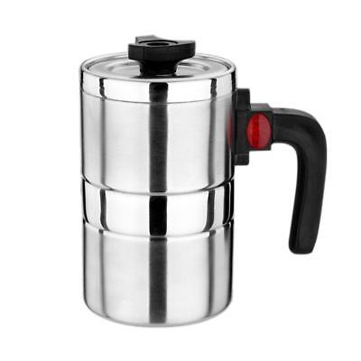 Heated Travel Mug 12V 500ml Car Stainless Steel Cup Vacuum Insulated Cup