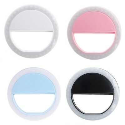 Portable Selfie LED Ring Fill Light Camera Photography For Android Phone iPhone