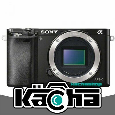 NUOVO Sony Alpha A6000 Mirrorless Digital Camera Black Body Only