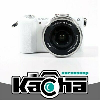 NUOVO Sony Alpha a5100 Mirrorless Digital Camera with 16-50mm Lens (White)