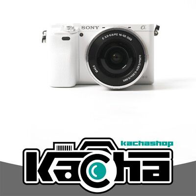 NUOVO Sony Alpha A6000 Mirrorless Digital Camera with 16-50mm Lens (White)