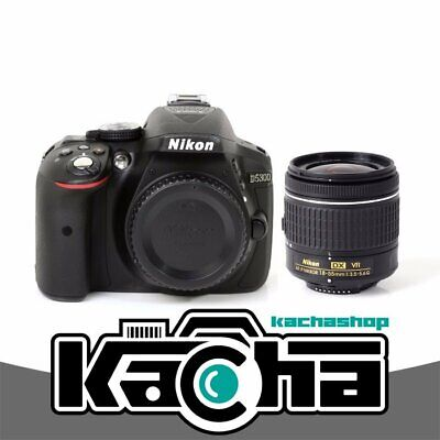NUOVO Nikon D5300 Digital SLR Camera + AF-P DX 18-55mm f/3.5-5.6G VR Lens Kit