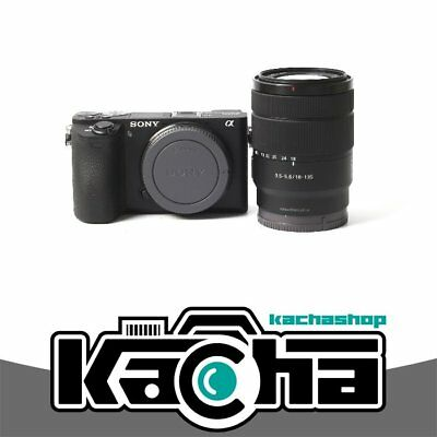 NUOVO Sony Alpha a6500 Mirrorless Digital Camera with 18-135mm Lens