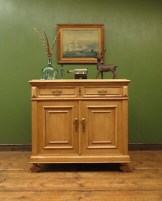 Antique French Pine Sideboard, Country Style Victorian Piece
