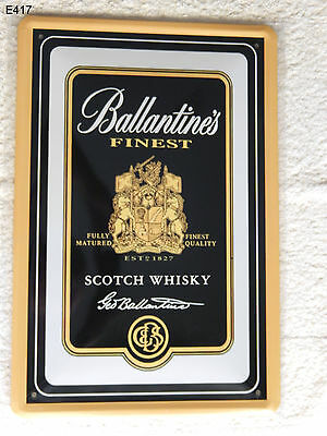 Blechschild, 20 x 30, BALLANTINES, scotch whisky, Alkohol,  Neu, OVP -2-