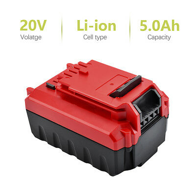 US For PORTER CABLE PCC685L 20V MAX Lithium PCC680L 5.0Amp Hour Drill Battery MP