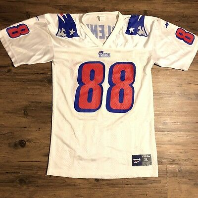 3601c4dc RARE Vtg REEBOK Terry Glenn Jersey New England Patriots AUTHENTIC NFL Sz XL