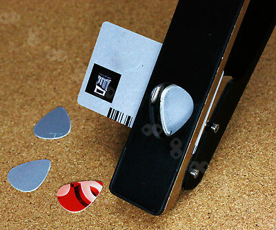 Guitar Professional Music Picks Plectrums Punch Master Cutter Maker Tool SY