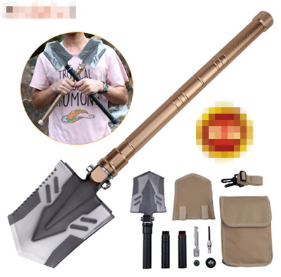 Folding Camping Hiking Shovel Military Tactical Survival Spade Emergency Outdoor