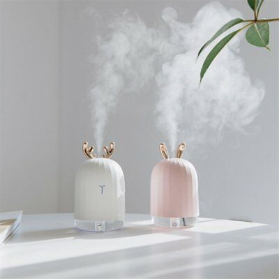 USB Ultrasonic Air Humidifier Essential Oil Aroma Diffuser Aromatherapy 7 LEDs 0